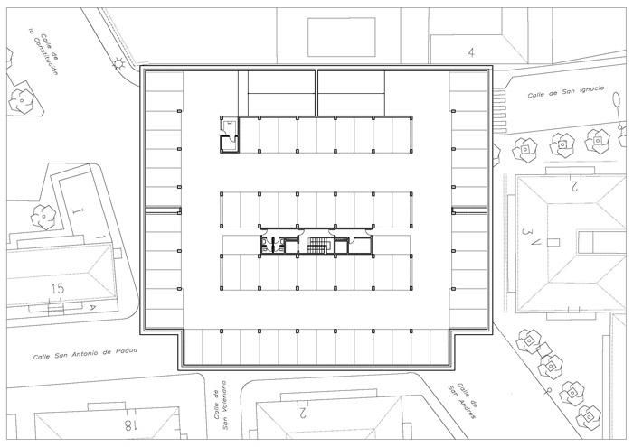Monforte marco concursos aparcamiento subterr neo para for Plaza de aparcamiento